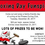 Boxing Day Funspiel @ The Pinawa Club | Pinawa | Manitoba | Canada
